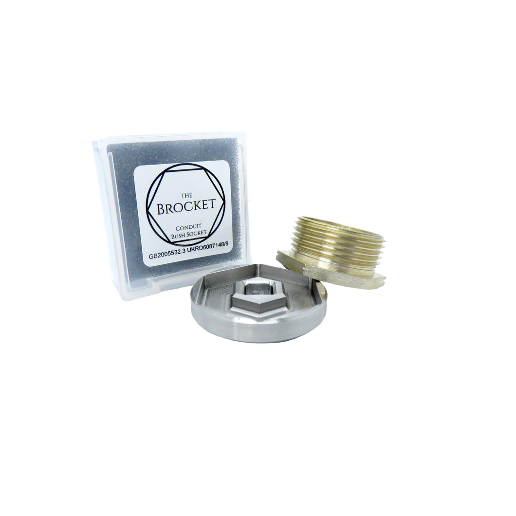 PREMIUM 25mm Bush Socket in Stainless Steel