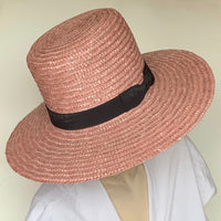 Eclection 'Bae' Tall Crown Boater Hat