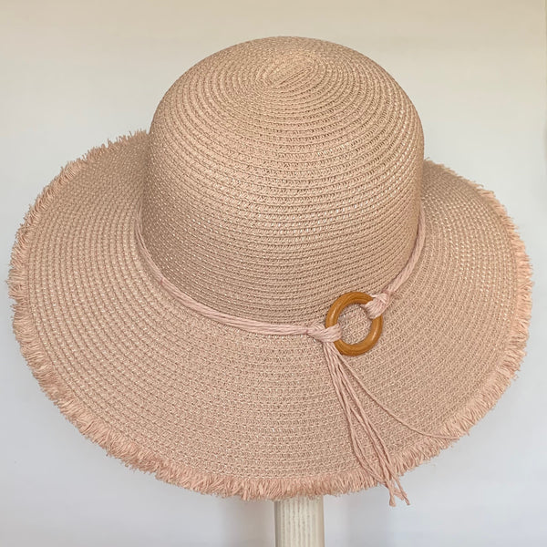 Eclection 'Sansa' Hat Pink
