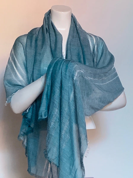 Stone Washed Look Scarf