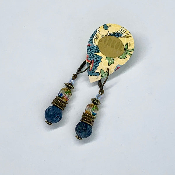 "Cirque Earrings Classic Drop ""Songbird"" Collection"