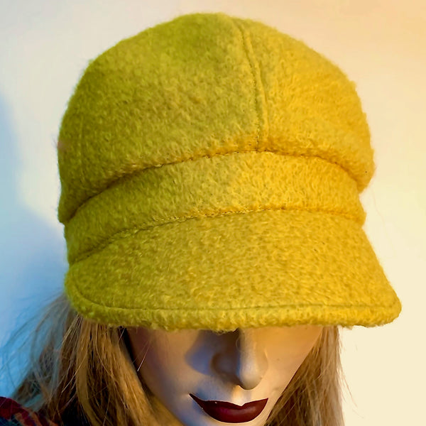 Fanfreluche 'Miss Kitty' Hat Boiled Wool Gold