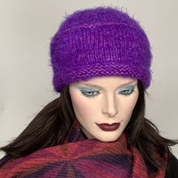Ildiko Pillbox Toque Bright Orchid