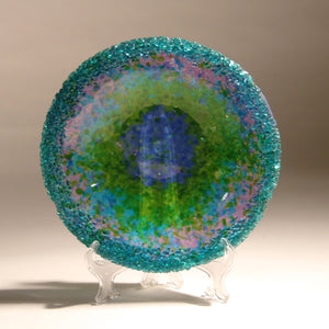 Fused Glass Dazzling Bowl