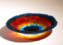 Load image into Gallery viewer, Fused Glass Brilliant Bowl