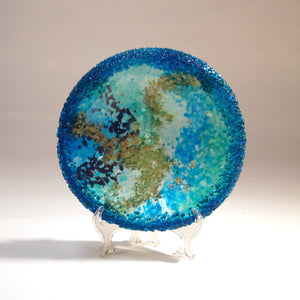 Fused Glass Glistening Bowl