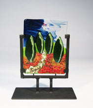Load image into Gallery viewer, Poplars Fused Glass Panel