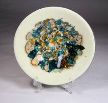 Load image into Gallery viewer, Reactive Silver Fused Glass Bowl