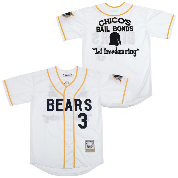 Chico's Bail Bonds Bad News Bears Jersey