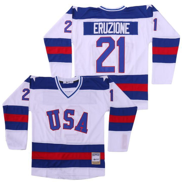 Mike Eruzione Team USA Miracle on Ice Jersey