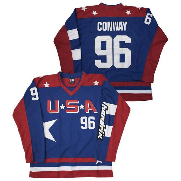 Charlie Conway Mighty Ducks Team USA Jersey