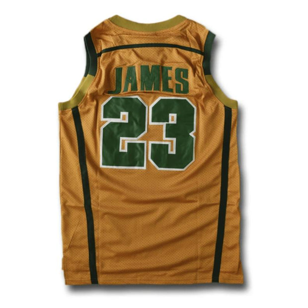 LeBron James Irish High School Jersey