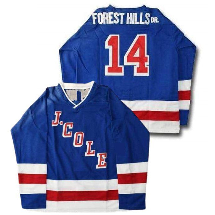 J Cole Forest Hills Dr. Hockey Jersey