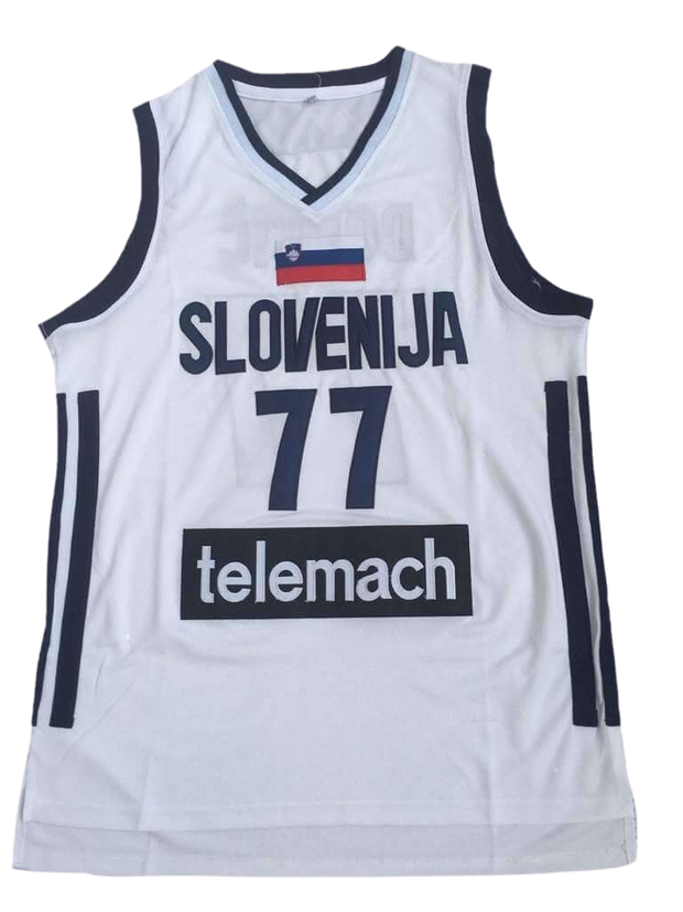 Luka Doncic Slovenia Euroleague Jersey