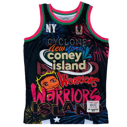 The Warriors Coney Island Jersey