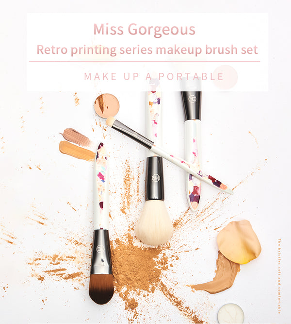 Miss Gorgeous Professional Makeup Brush Set Loose Powder Brush