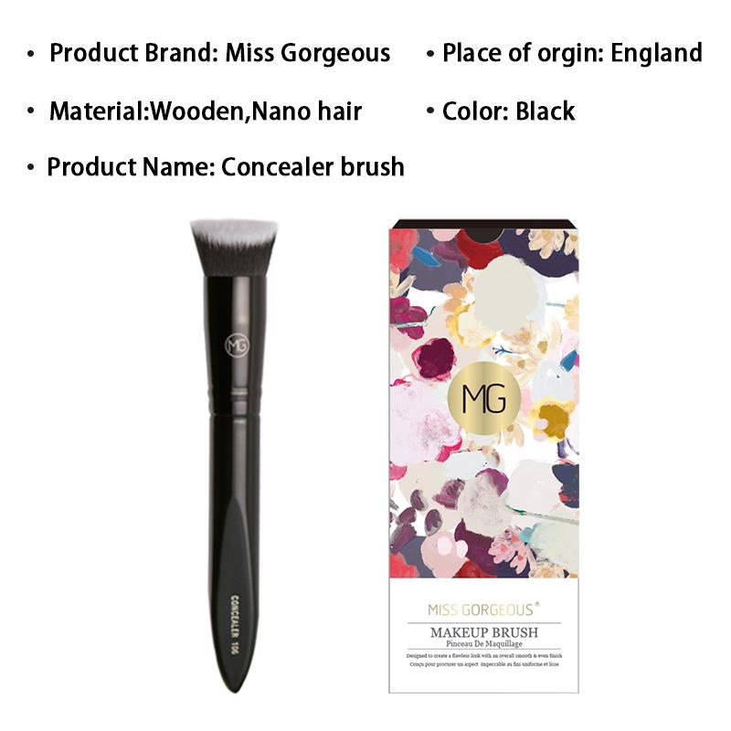 Miss Gorgeous Professional Makeup Brush Set Big Concealer Brush