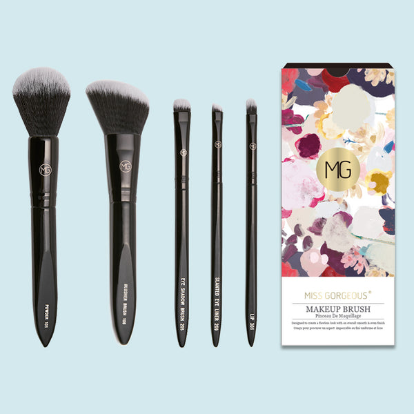 Miss Gorgeous Professional Makeup Brush Set (5 styles)