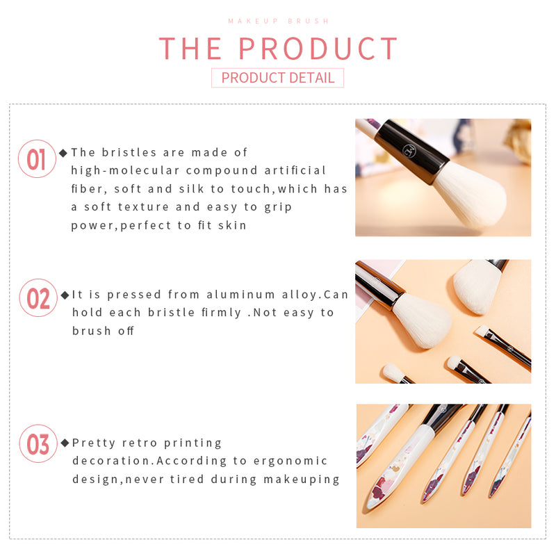 Miss Gorgeous Professional Makeup Contour Trimming Brush
