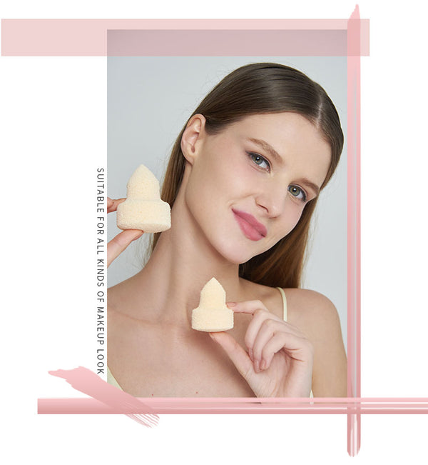 Miss Gorgeous anti-allergy beige pointed makeup remover