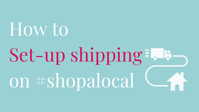 How To Set-Up Shipping