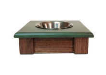 Load image into Gallery viewer, 100% Handcrafted & Custom Made Pet Bowl Stands Madrock Design