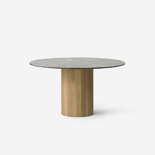 Vipp Cabin round table, light oak base