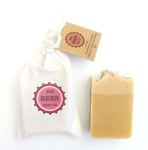 Beer Soap / Geranium / Hand and Body Bar