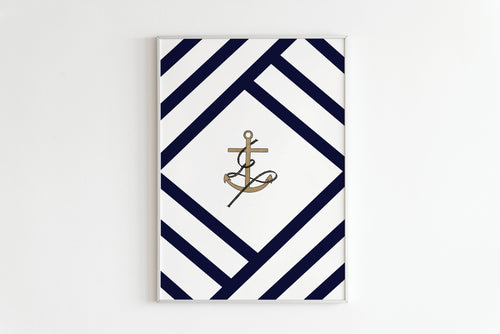 Nautical Wall Art, Bedroom Prints