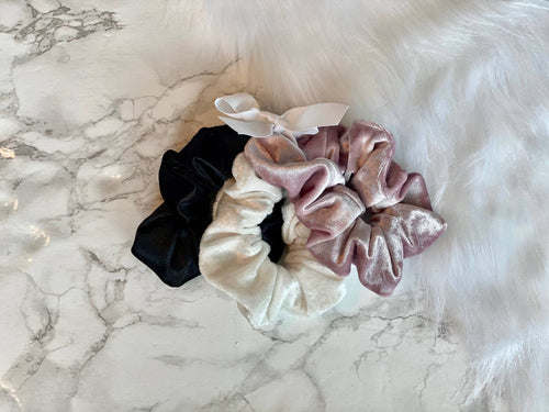 Velvet Scrunchie Value Pack