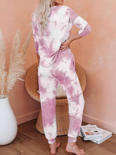 Load image into Gallery viewer, Pink Tie Dye Lounge Set