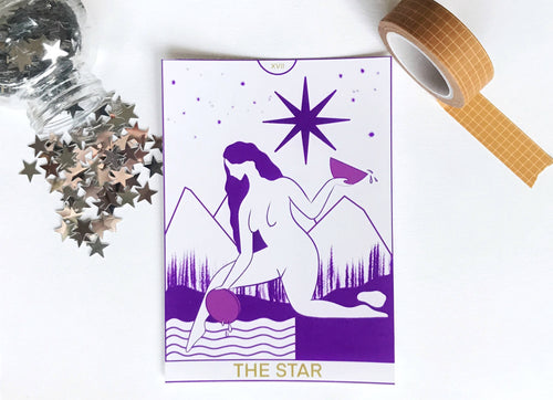 The Star Tarot Card Art Print