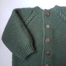 Load image into Gallery viewer, Cable Cardigan (unisex)