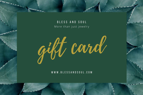 Bless and Soul Gift Card