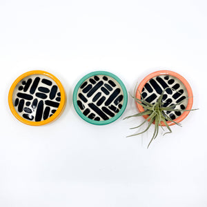 Colourful Pattern Trinket/Ring Dishes