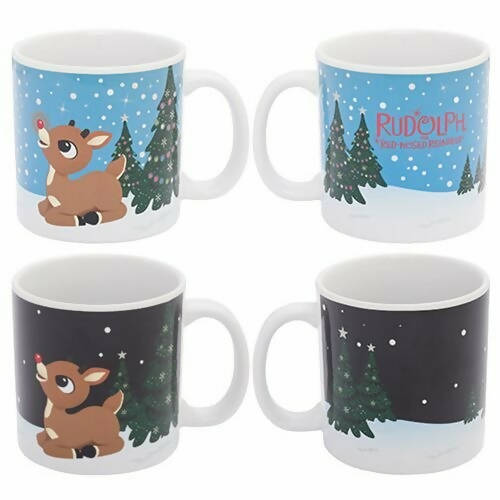 Rudolph Heat Reactive 20oz Mug