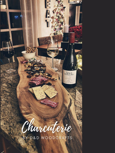 Black Walnut Charcuterie Board