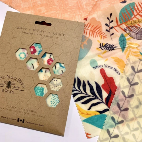 Mind Your Bees Beeswax Wraps