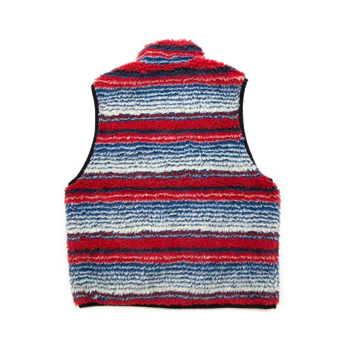 Stüssy Striped Sherpa Vest Multi