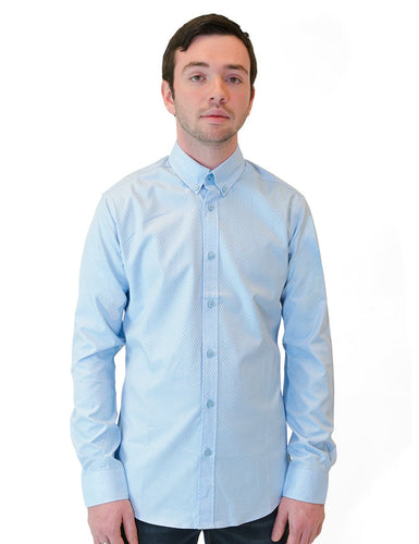 Diamond Weave Dress Shirt