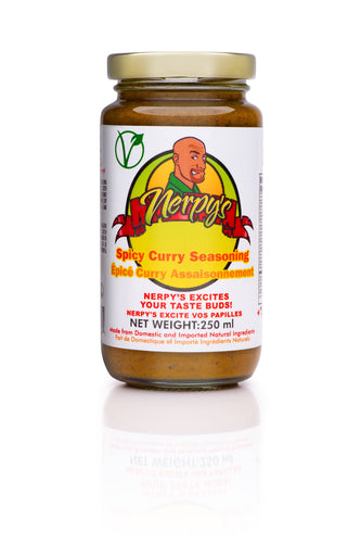Nerpy's Spicy Coconut Curry Seasoning