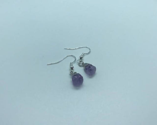 Amethyst Dangle Earrings StellaLuna Creations