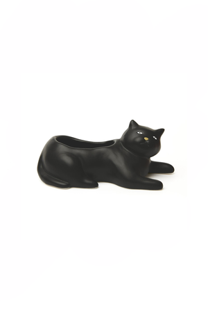 Kikkerland - Cosmo the Black Cat Planter