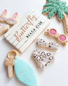 Custom Treats The Cookie Gallery To Beach⁣