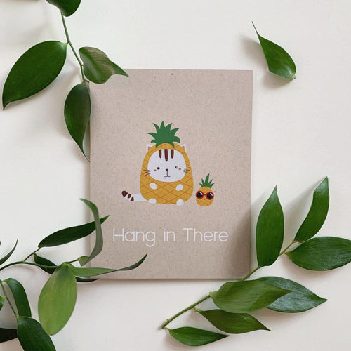Hang in there Cat BonWong Designs