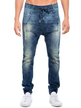 Load image into Gallery viewer, Jasper kangaroo jeans in million dollar man blue