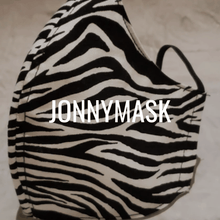 Load image into Gallery viewer, Stay safe in style with Cotton Masks JonnyMask