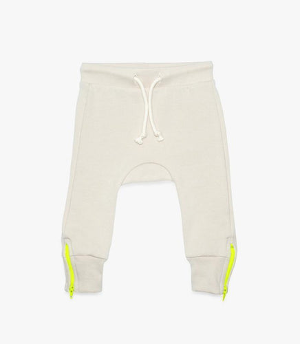 Stylish and Comfortable Organic Playwear The Urban Nursery Electric Zip Pants