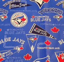 Load image into Gallery viewer, Unique Handmade Cloth Masks Liberty Boutique Toronto Toronto Blue Jays