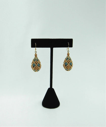 Earrings ''FABERGE - FALL DREAM''